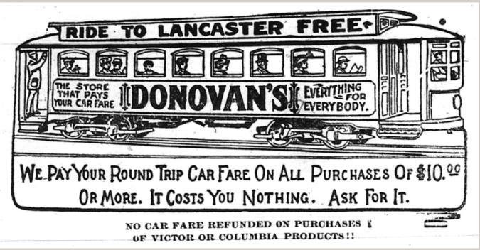 Donovans ad