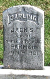Jack S Parmer headstone