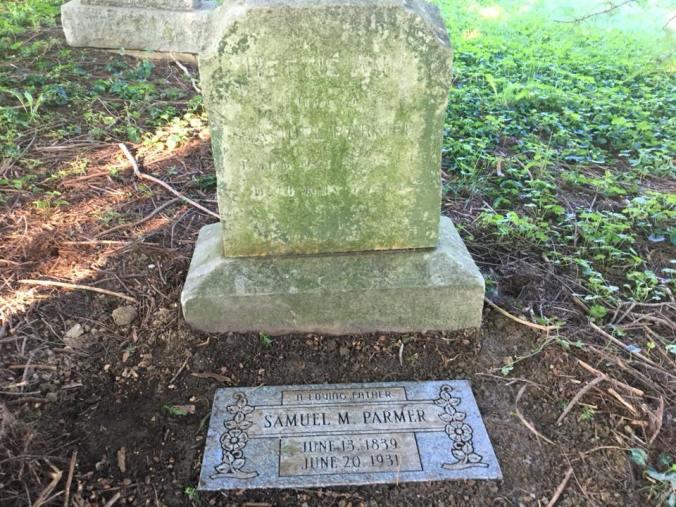 samuel m parmer headstone