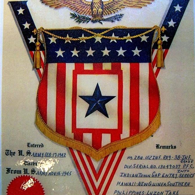 Robert E. Parmer Jr. military service
