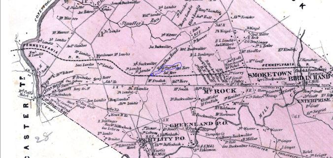 john parmer map east lampeter snip