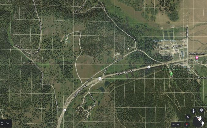 google earth image of jj parmer land grant